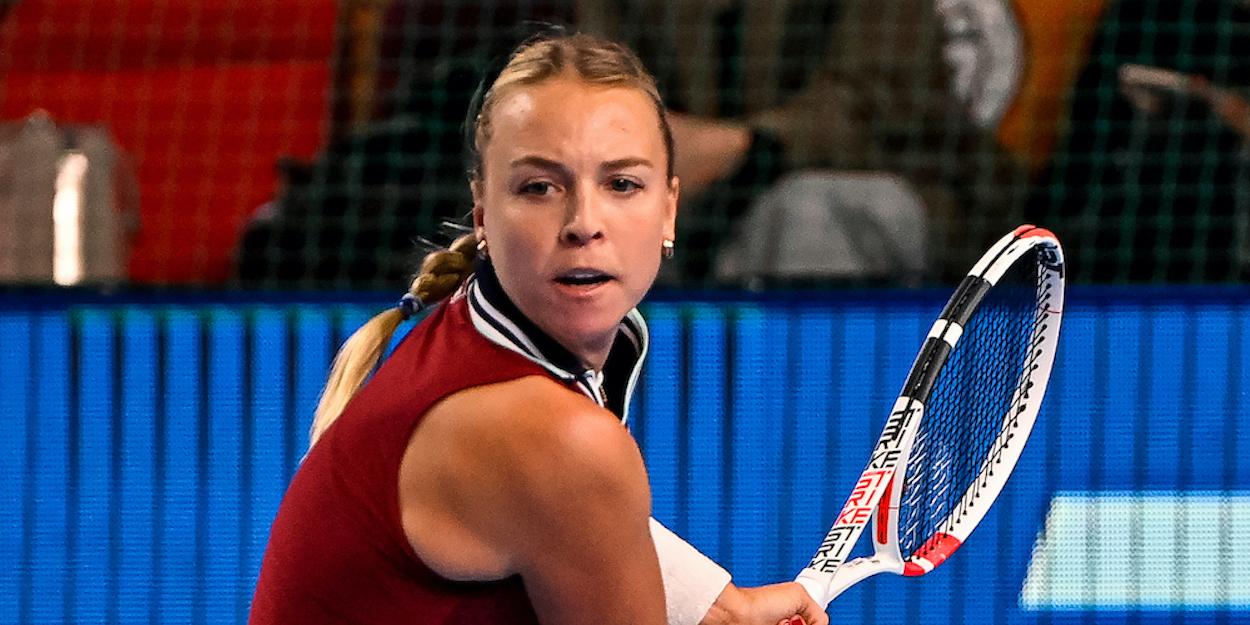 Anett Kontaveit WTA Kremlin Cup 2021