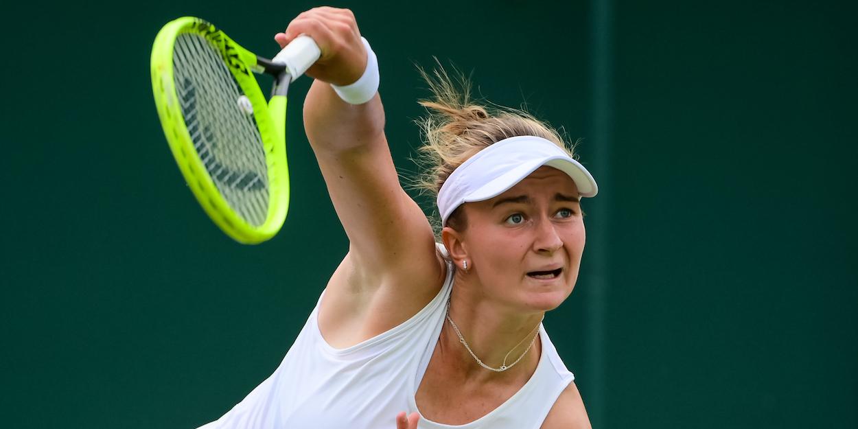 Barbora Krejcikova Wimbledon 2021