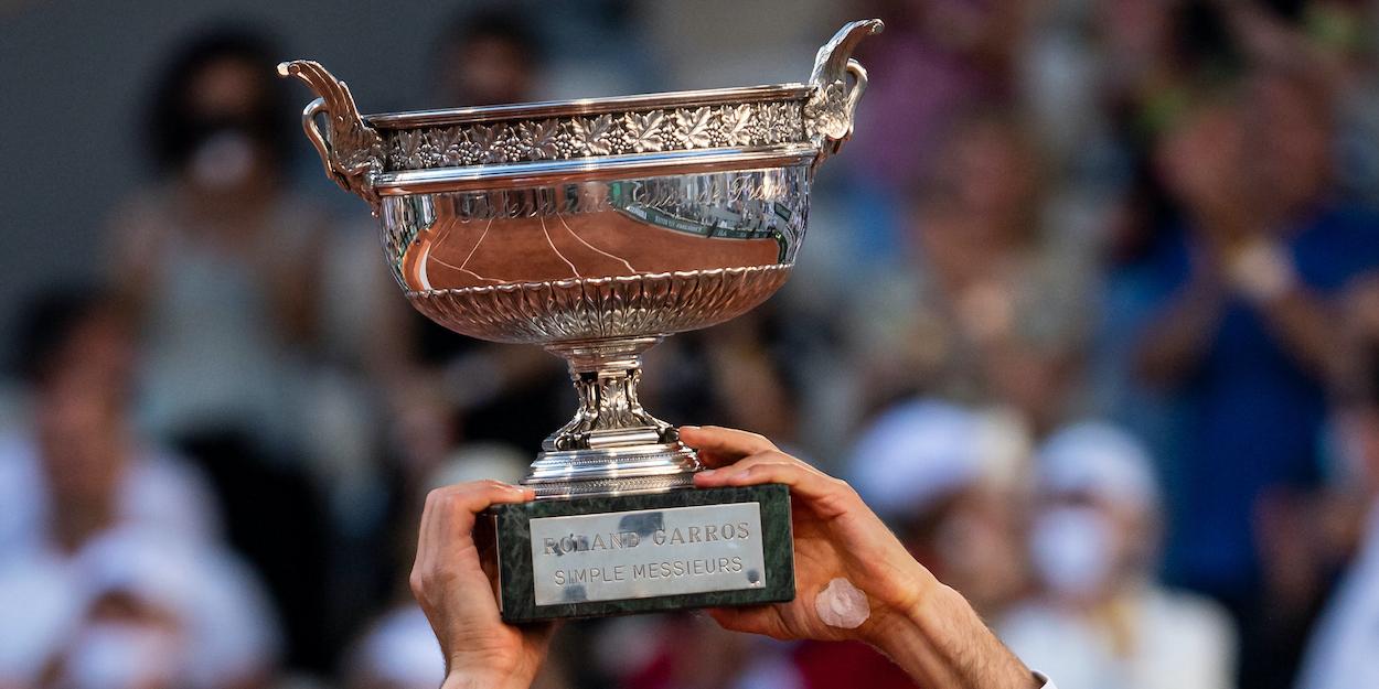 Roland Garros ATP trophy
