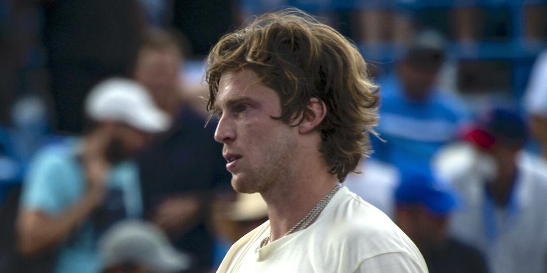 Andrey Rublev Cincinnati Masters 2021