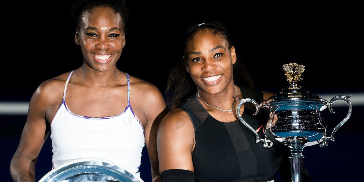 Serena and Venus Williams Australian Open 2017