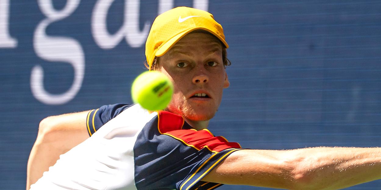 Jannik Sinner US Open 2021