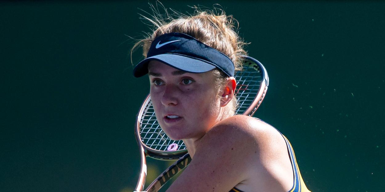 Elina Svitolina Indian Wells 2021