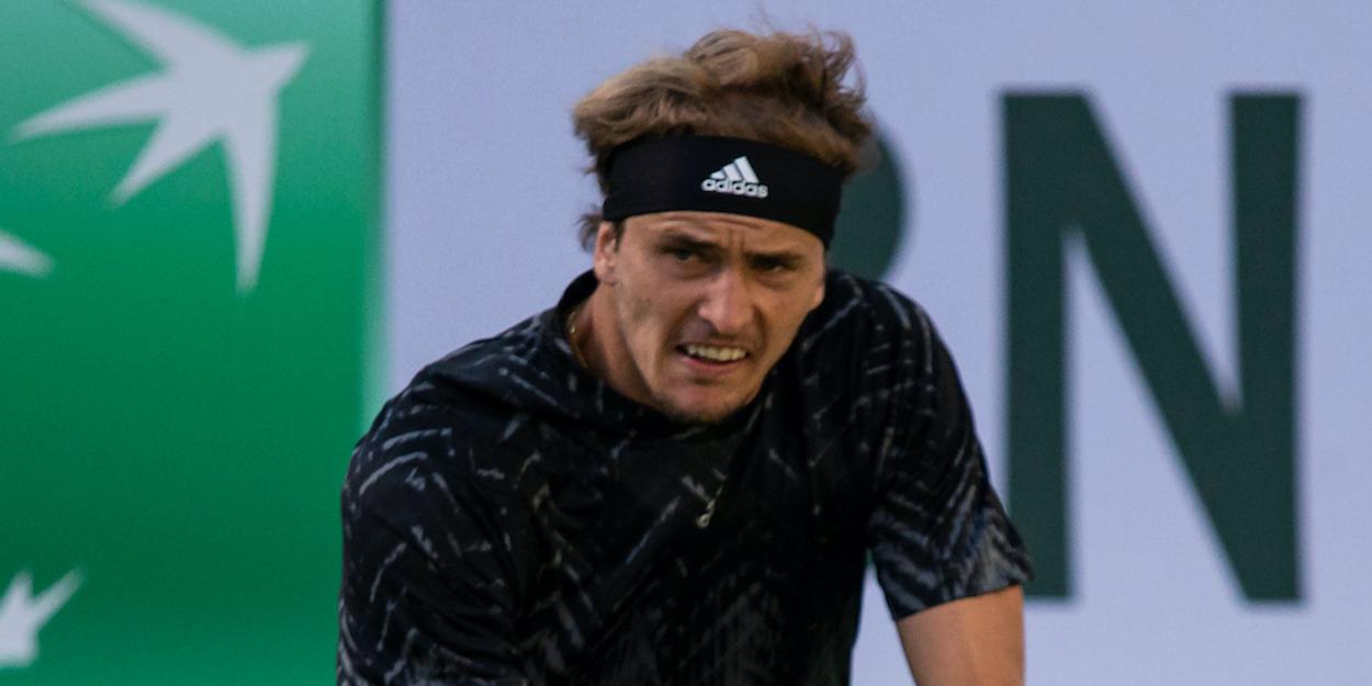 Alexander Zverev Indian Wells 2021